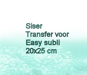 Siser Transfer voor Easy Subli